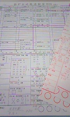 K 検査 新版 式 発達
